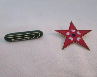 Vintage Pair of Brooches/Pins