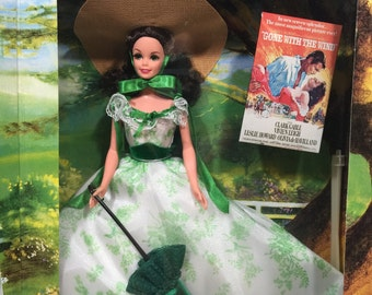 Gone With The Wind Barbie as Scarlett O'Hara Mattel 12997