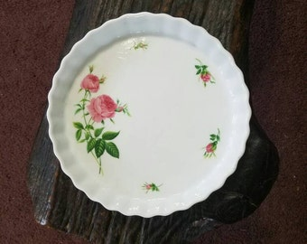 "Christineholm 9""Pie plate, tart dish, pie pan, Quiche dish, quiche pan, fluted dish,Vintage, Perfect."