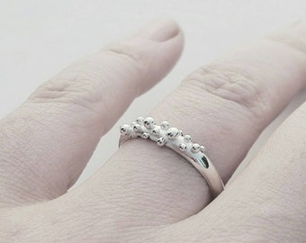 BUBBLES RING | Sterling Silver