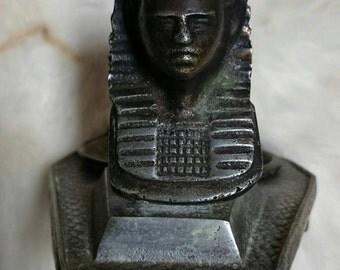 Antique Egyptian ASHTRAY KING TUT Art Deco