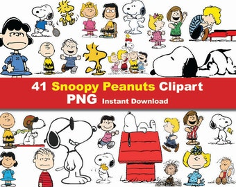 Snoopy clipart | Etsy