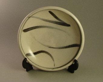Plate, stoneware