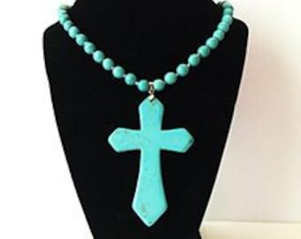 Santa Fe Cross Necklace