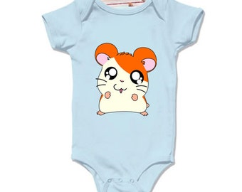 LoNyatanee Hamtaro Pokemon Onesie Baby Onesie Bodysuit Kids Clothing