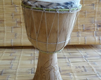 Drum, jembe from Africa