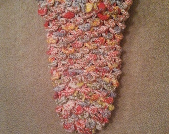 Mermaid Tail Sack - ages 5-11 years (in Tangello)
