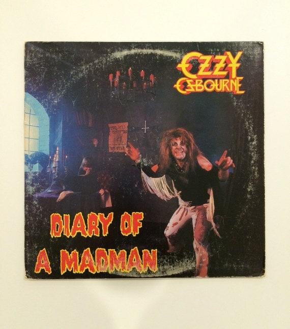 Ozzy Osbourne Diary Of A Madman Vinyl Record Album LP