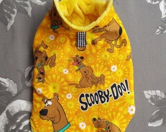Small dog clothes, Dog jumper Chihuahua Scooby Doo outfit, Puppy Bright Dog Clothes Chihuahua Coat outfit  XS
