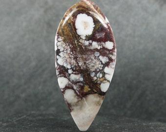 Rare Wild Horse Magnesite Designer Cabochon, AAA Collector Gemstone, Large Loose Freeform Lapidary Cabochon, Designer Jewelry Focal Stone