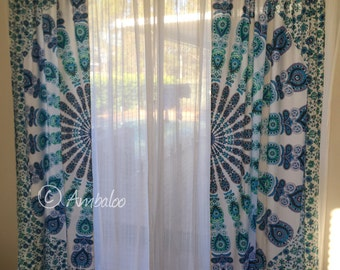 Mandala Curtains