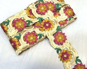 Cutwork Embroidery Trim in 9 yards Of 2.5 Inches Width