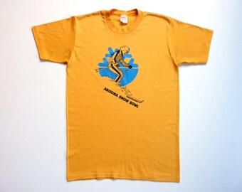 Vintage 80's Tee-Shirt Alpine Ski Resort Arizona Snowbowl