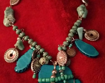 Matching Vintage Turquoise necklace