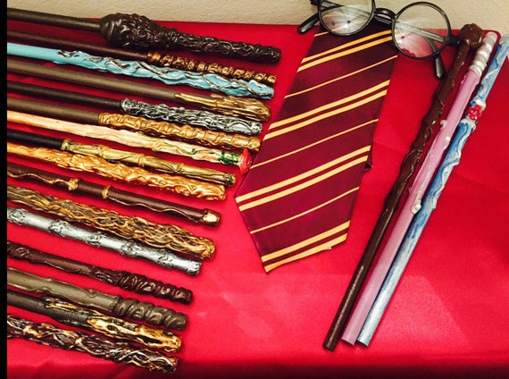 50 harry potter style wands cosplay by imaginitivesewing for Harry potter wand owners