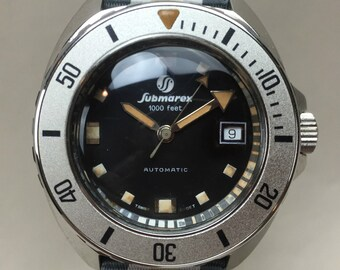 Vintage Submarex Aquadive Scubapro 1000 ft Diver Dive Diving Deep Sea