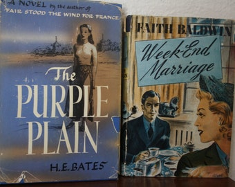 Vintage Hardcover Books - 1940s