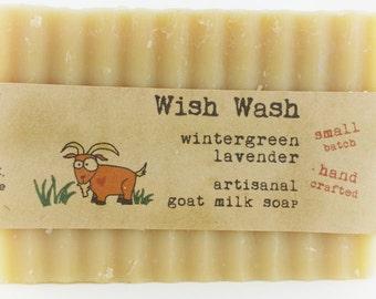 Wintergreen Lavender Goat Milk Soap