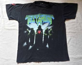 1990 Testament Tour T Shirt