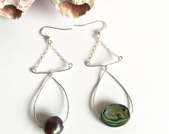 Inspired Abalone Pearl Fish