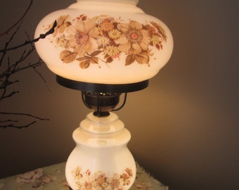Old lamp 2 globes