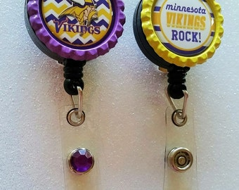 Vikings ID Badge, Vikings Badge, Minnesota Vikings ID Badge, Minnesota Vikings Badge, Minnesota Vikings, Vikings