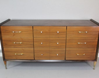 Vintage Mid Century Modern Credenza by Kent Coffey / Contemporary Style