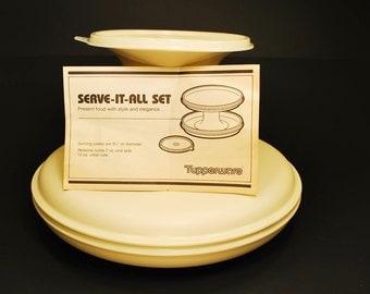 Tupperware Serve-It-All Set