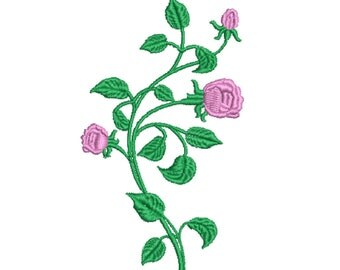 Roses: Machine embroidery design