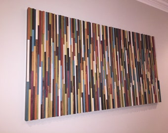 modern wood wall art-wood wall art-wooden wall art-reclaimed wood wall art-home decor- wall art large-art sculpture