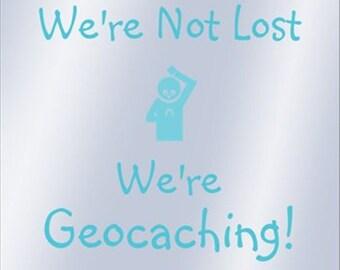 Geocaching Decals & Bumper Stickers