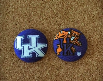 University of Kentucky Button Badge Reel Set