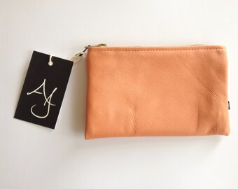 Colour Pop Leather Purse