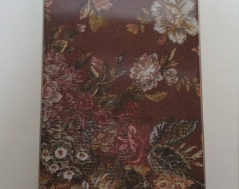 Floral Tapestry Look Tin