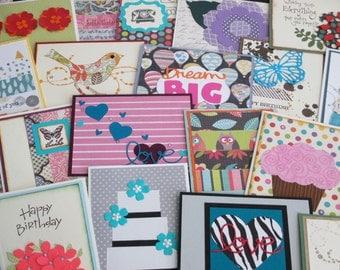 Handmade Greeting Card, GRAB BAG