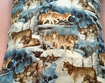 Wolves Pillowcase Set of 2