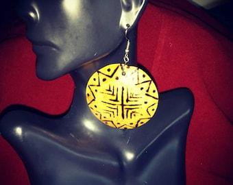 Ethnic matamba earrings