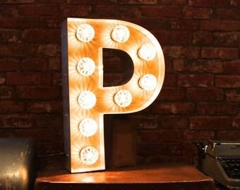 Letter Light P