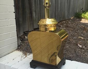 Brass Asian Lamp