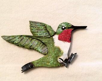 Hummingbird ornament | Etsy