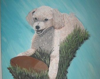 Custom Pet Portrait Dog Portrait Dog Painting Dog Gift Pet Gift Custom Pet Portrait - Free Shipping!