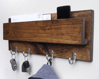 Wall Mounted Coat Rack, Wall Key Hooks, Wall Key hanger