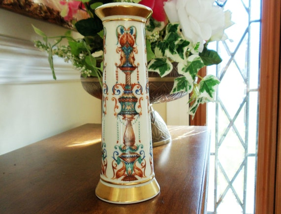 Vintage Lenox Lido Pattern Small Vase Hand