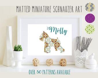 Miniature Schnauzer Art