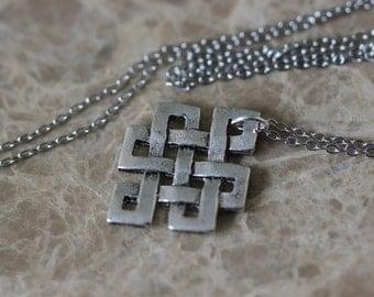 Endless Knot Pendant necklace
