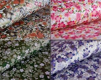 Cherry Blossom/ Japanese Paper/ Washi Paper, Origami Paper, Handmade Paper, Chiyogami, Yuzen