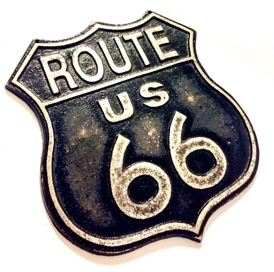 Vintage Style Route 66 Sign Christmas Gifts For Him Rusty