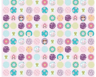 Dream Dots Princess Pink Riley Blake 1 YD Cut