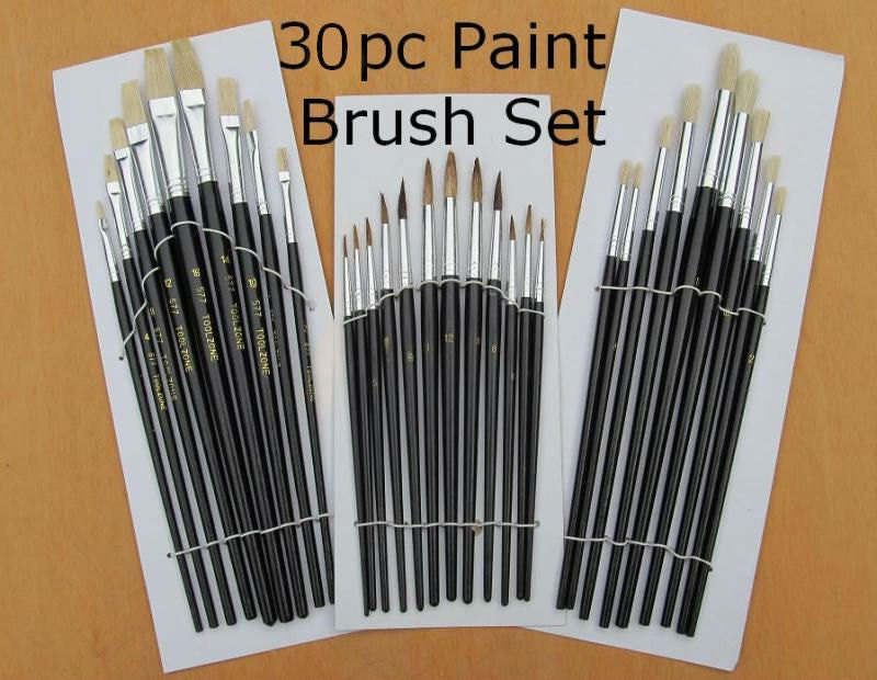Paint Brush Tools Makers Stencil