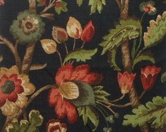 Duvet Cover Elizabeth Floral Night, Reversible